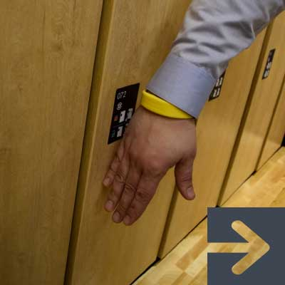 secure touchless personal storage locker solutions