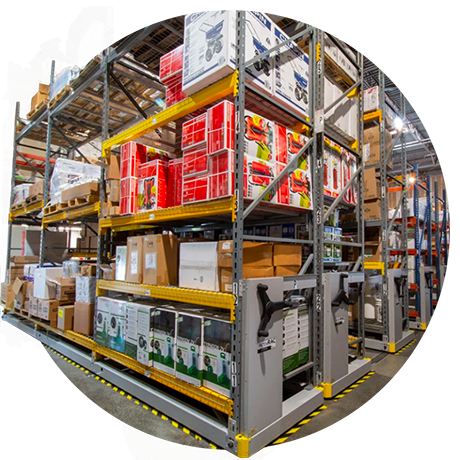 high-density racking for cold storage