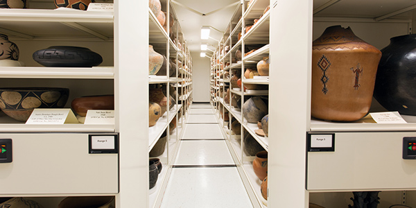 electric museum shelving systems