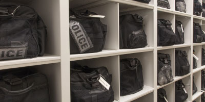 police crowd control storage solutions