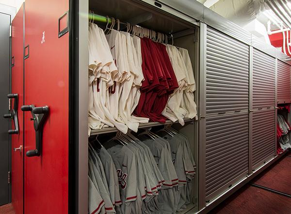 roll down locking doors shelving storage