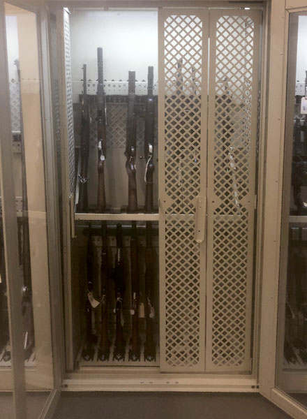 secure weapon preservation storage
