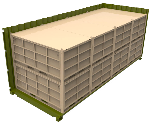 military modular container