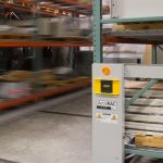 safety features electric moving shelves