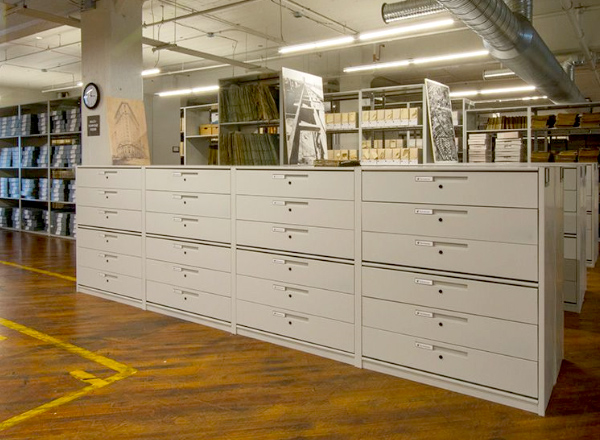 archive collection shelving ideas