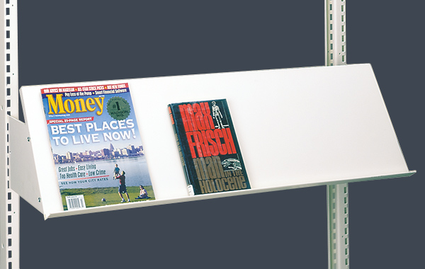 cantilever fixed display shelf