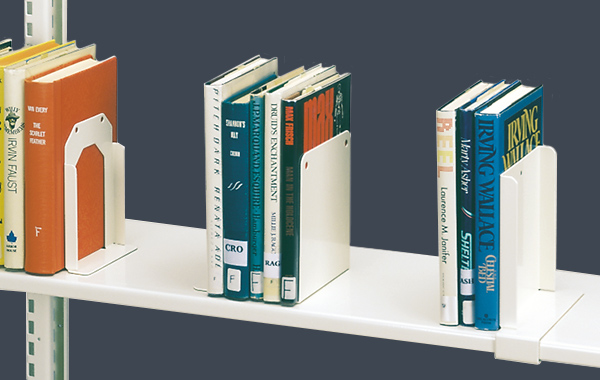 cantilever steel book supports
