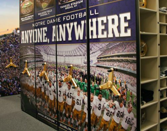 customize your football equipment room
