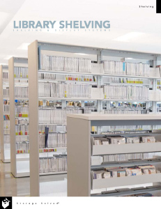 download library shelving