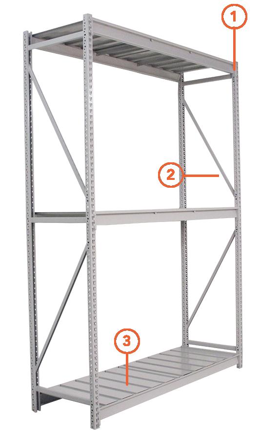 widespan steel shelving american manufactured