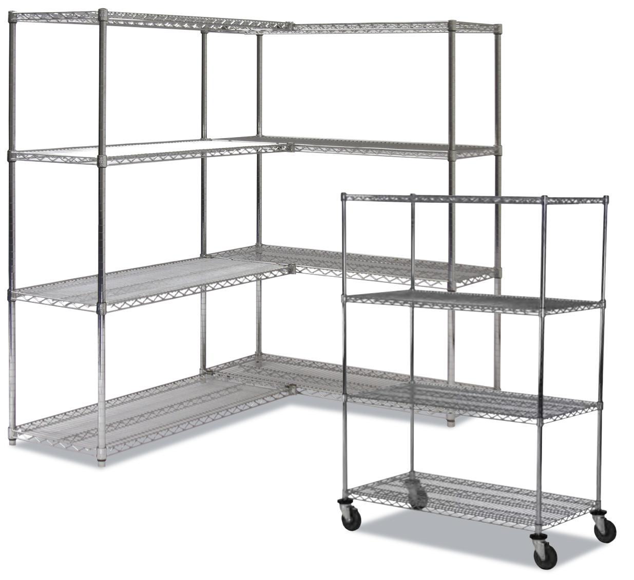 wire shelving spacesaver storage solutions