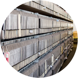 music library shelving case study