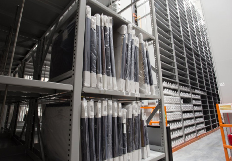 art off-site archival shelving solutions