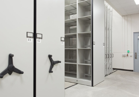 climate controlled art archive storage systems