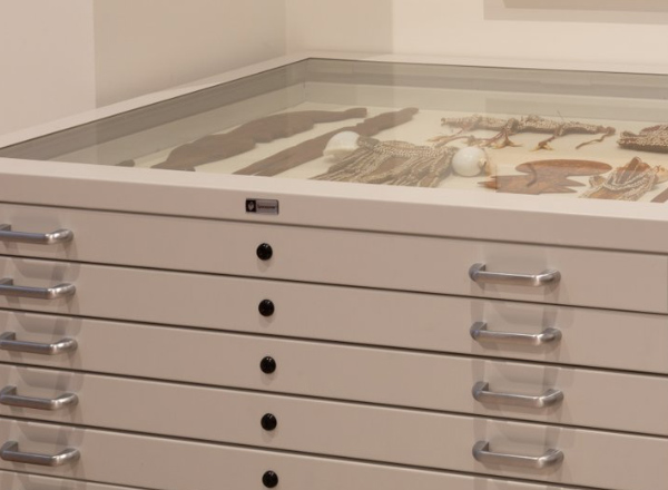 archive glass top flat file