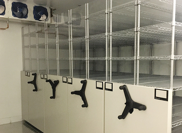 healthcare climate controlled storage solution