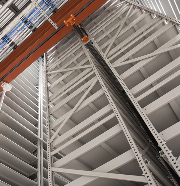industrial archival shelving systems