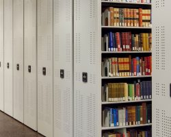 law library mobile shelving