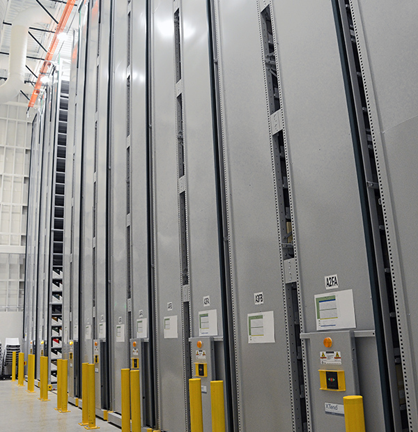 secure off-site shelving systems