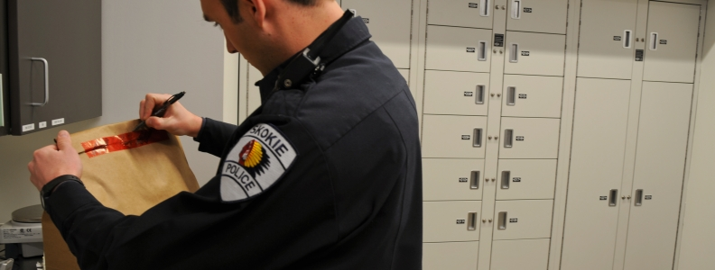 Evidence Lockers Add Optimum Security For Skokie PD