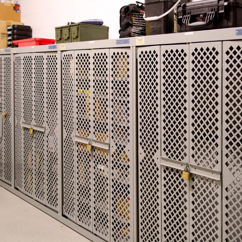 Secure Weapons storage at Franklin Police Department