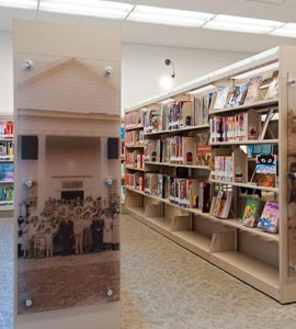 Custom Shelving Showcases History