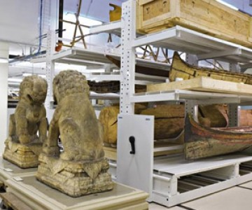 High Density Storage Holds up History at Chicago Field Museum
