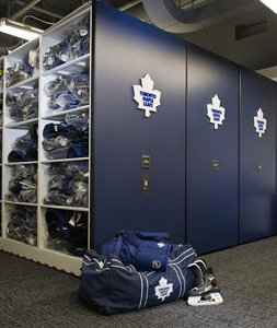 Toronto Maple Leafs Score More Hockey Equipment Storage