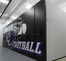Warhawks Score with Spacesaver for Football Storage