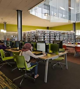 Spacesaver Shelving Transforms Gateway Library