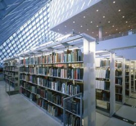 Custom Book-Storage for Seattle's Landmark Central Library