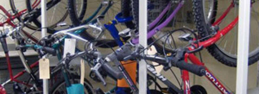 Bike Storage on Mobile Shelving at Tinley Police Department & Bike Storage on Mobile Shelving at Tinley Police Department - Mobile ...