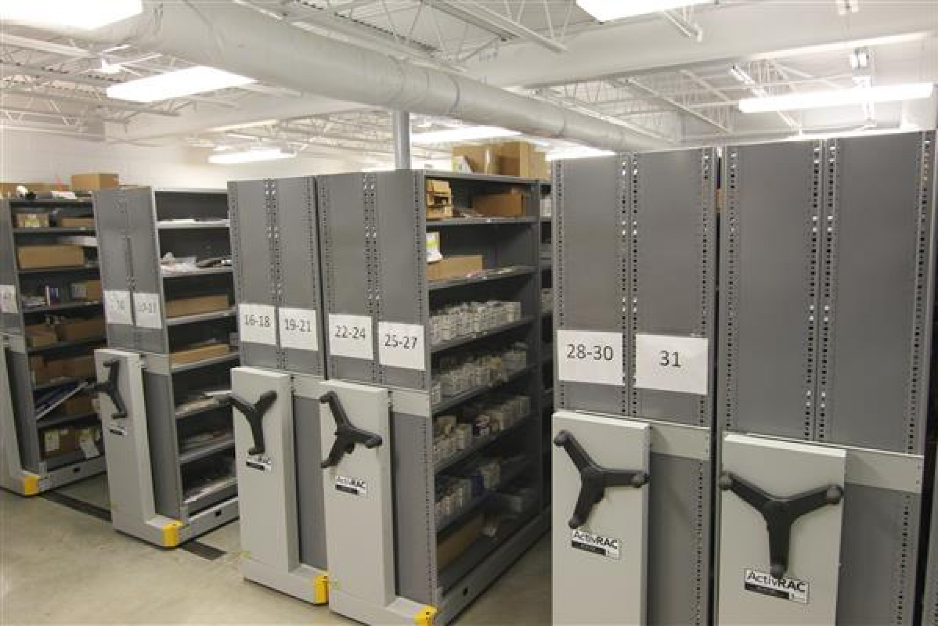 Heavy-Duty Mobile Racking | Spacesaver Corporation