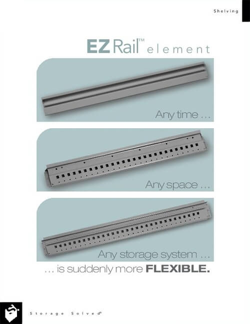 BROCHURE/TECH SPECS: EZ RAIL ELEMENT