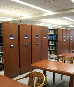 Compact Shelving Makes Room for Library Makerspace