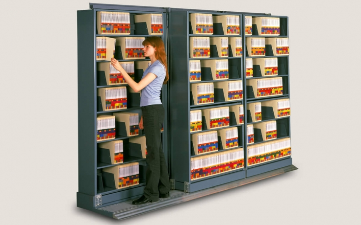 The Result Is A Cost Effective, High Efficiency Lateral Filing System That  Dramatically Increases Storage Capacity Within A Given Area.