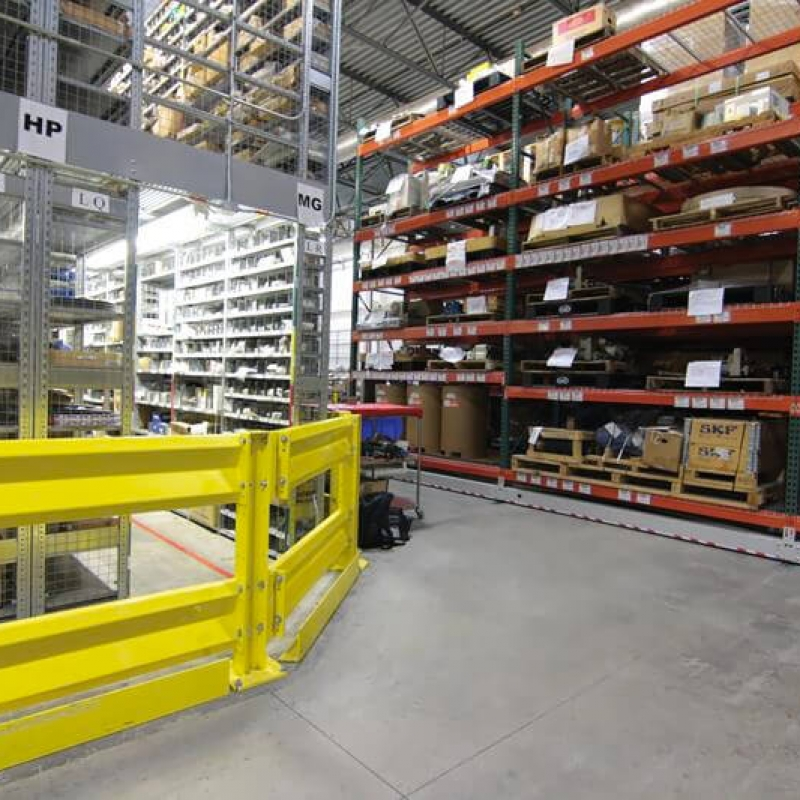 Mobile Industrial Racking at Southern Car Manufacturing Facility