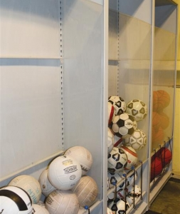 Sports Equipment Storage Solutions St Mary S Academy Bay View Rocks Their Esaver