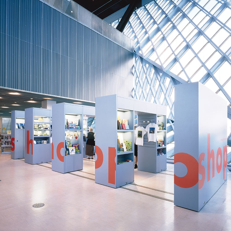 configurable space at seattle library inspires GE design center think tank