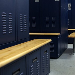 Bensalem, Pennsylvania Police Department Personal Storage Lockers