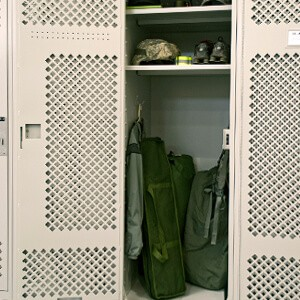 North Carolina National Guard Personal Storage Lockers